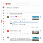 youtube studio smartreply